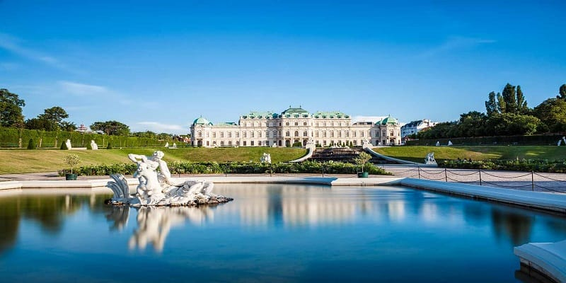 belvedere-palace-in-vienna-austria