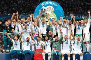 Champions League win, 2017